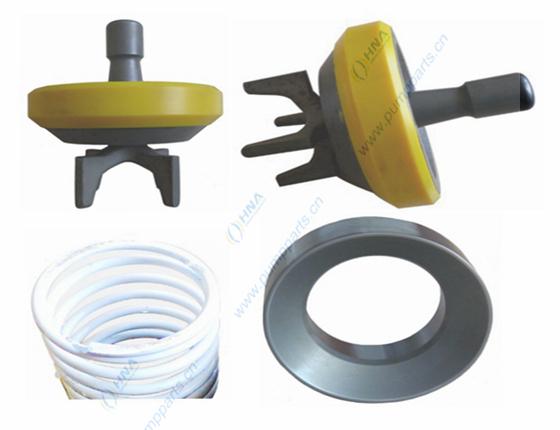 阀爪式整体锻造阀体--硫化一体式聚氨酯胶皮 -- BFB型