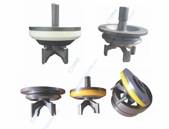 阀爪式焊接阀体--可更换快装式聚氨酯胶皮 -- BWR型