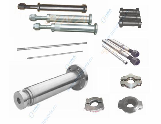 杆件与卡箍-- 活塞杆,活塞杆接杆,介杆,拉杆,  卡箍