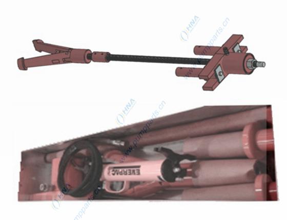 液压缸套拆卸器工具套装