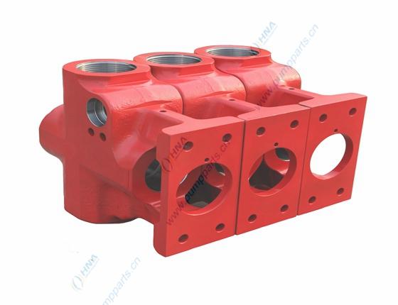 HNA 400-HT 柱塞泵液力端阀箱