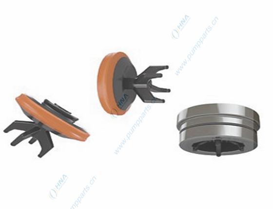 阀爪式焊接阀体,柱塞泵/压裂泵用--硫化一体式聚氨酯胶皮 -- BWB型