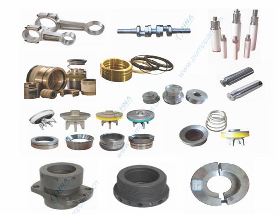 柱塞/压裂泵液力端和动力端配件