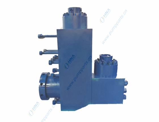 L型液力端阀箱(2块式)—5000Psi 7500Psi