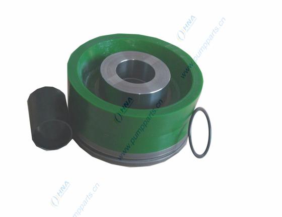 耐高压硫化一体式双硬度聚氨酯活塞 - FLex Lip Dual Green