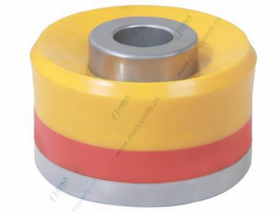 牛鼻型低摩阻高耐腐耐高温耐高压硫化一体式双硬度聚氨酯活塞 - Slip Seal Supreme