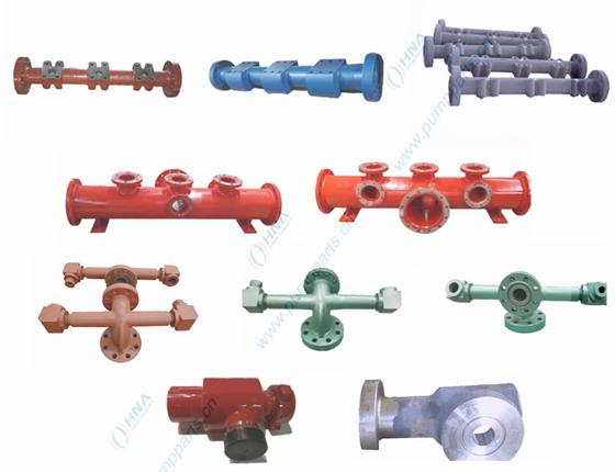 吸入/排出管汇及组件