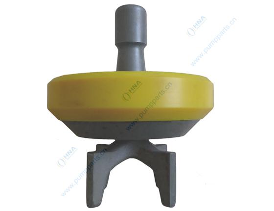 阀爪式焊接阀体--硫化一体式聚氨酯胶皮 -- BWB型