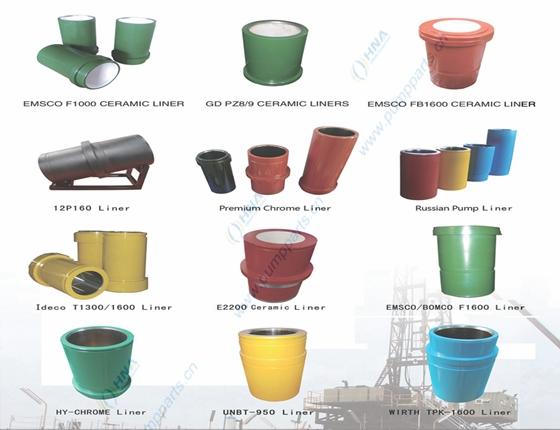 HNA 缸套产品的通用与互换