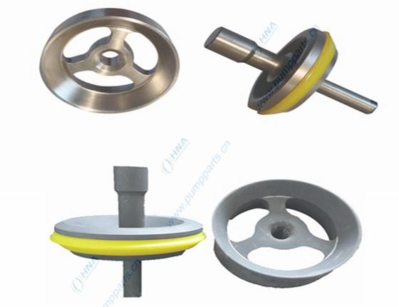 中央阀杆式整体锻造阀体--可更换快装式聚氨酯胶皮-- CFR型