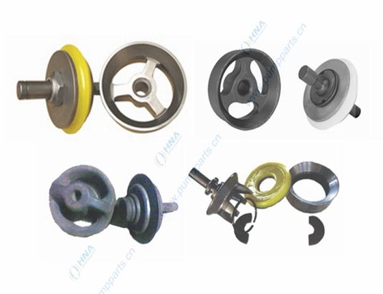 中央阀杆式整体锻造阀体--压板/螺母快装式可更换聚氨酯胶皮-- CFP/CFL型