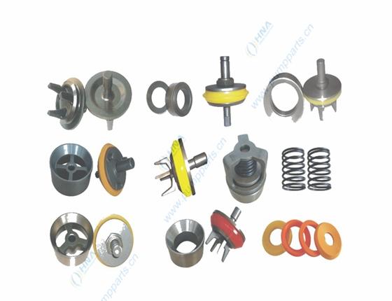 HNA 阀体、阀座、胶皮、阀弹簧的通用与互换