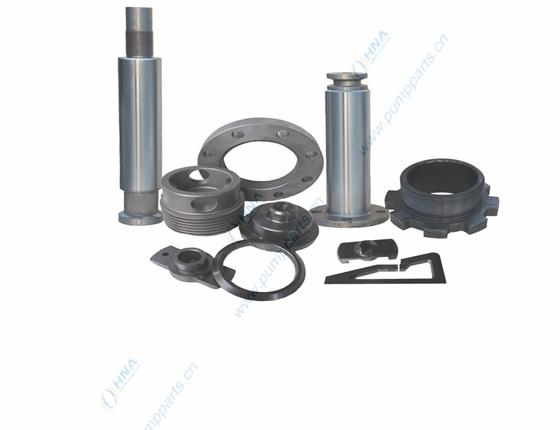 HNA L型/I型5000/7500PSI阀箱液力端配件、杆件与卡箍的通用与互换