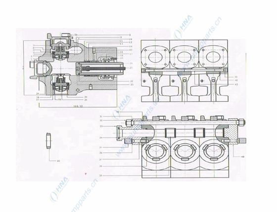 柱塞/压裂泵配件清单
