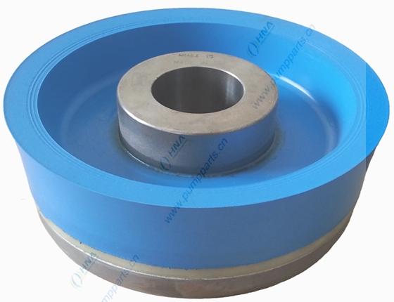 耐高温耐高压硫化一体式双硬度聚氨酯活塞- FLex Lip Dual BLue