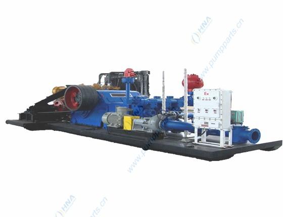 柴油机泵机组撬装