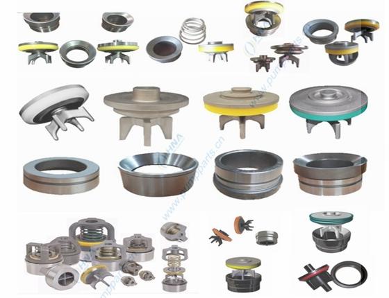 HNA 柱塞/压裂泵用阀体、阀座、胶皮、阀弹簧的通用与互换
